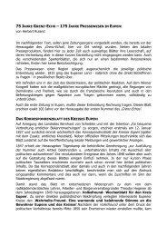 175 Jahre Pressewesen in Eupen - Grenzgeschichte.eu
