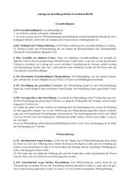 BGB - Lehrstuhls für Bürgerliches Recht, Bank