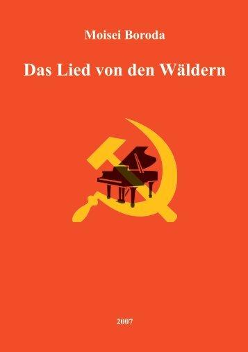 Das Lied von den Wäldern Moisei Boroda - DTKV Gelsenkirchen ...