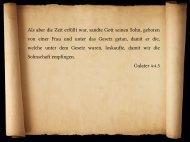PDF-Datei zur Predigt - Christliche Gemeinde Waldstraße Werne