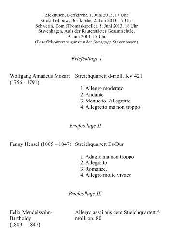 Konzertprogrammheft PDF - Amadeu Antonio Stiftung