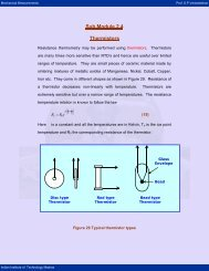 Thermistors - nptel - Indian Institute of Technology Madras