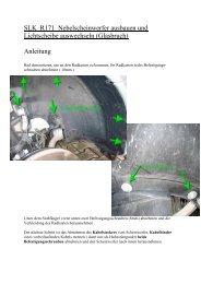 Kopie von SLK R171 Nebelscheinwerfer ausbauen und Lichts…
