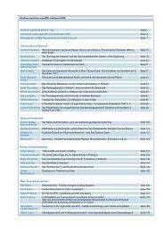 Inhaltsverzeichnis vom MTK-Jahrbuch 2009 - Main-Taunus-Kreis