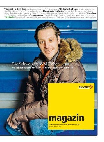 magazin» Februar 2009Link wird in einem neuen Fenster geöffnet