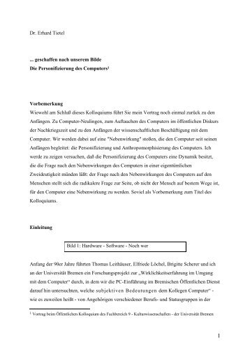 Download [pdf] - Universität Bremen