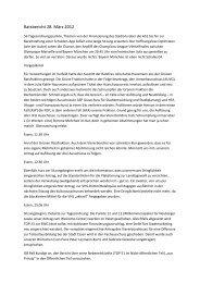 Bericht der Ratssitzung vom 28. März 2012 - DIE LINKE., Fraktion im ...