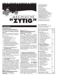 Nr.2 - 27. März 2009 - Meikirch