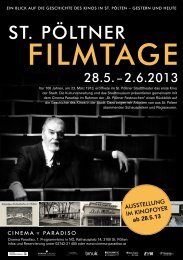 ST. PÖLTNER - Cinema Paradiso