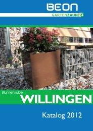 Katalog Serie Willingen - Gartenzaun24