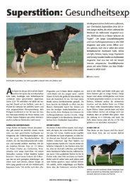 Lesen Sie den vollständigen Artikel! - CRI Genetics GmbH