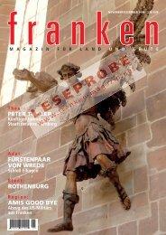 Artikel im Heftlayout als PDF (1,3 MB) - Franken Magazin