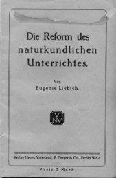 Die Reform des - Magnus-Schwantje-Archiv