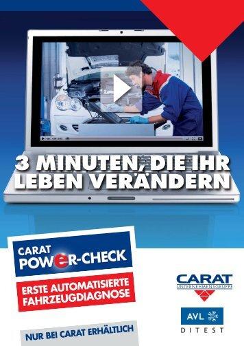 Carat POWER-CHECK - Autechna