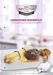 GEBRATENES RINDERFILET - EDEKA-Kochschule