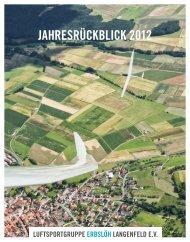 Jahresrückblick 2012 - JEFs FotoGalerie