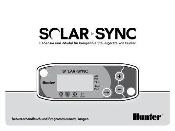 ET-Sensor und -Modul für kompatible Steuergeräte von Hunter ...