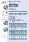 Sägeblätter Kreissägen Hartmetallbestückt - Page 4