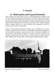 3. Neuzeit 3.1. Reformation und Gegenreformation - in Lichtenfels