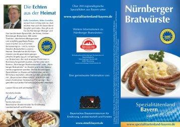 Nürnberger Bratwürste