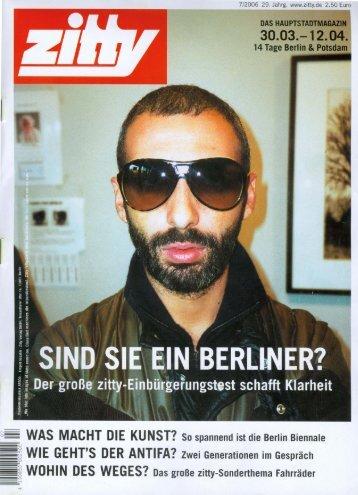 Zitty - 4. Berlin Biennale
