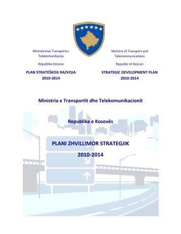 PLANI ZHVILLIMOR STRATEGJIK 2010-2014 - Ministria e ...