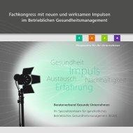 Download Einladung/Ablauf (PDF) - GesundeUnternehmen.com