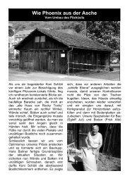 Umbau Pilzhaus - Pilzverein Region Baden