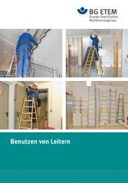 Benutzen von Leitern - Die BG ETEM