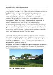 Reisebericht zur Angelreise nach Irland - Kingfisher Angelreisen