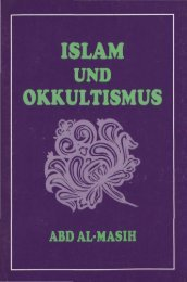 ISLAM OKKULTISMUS