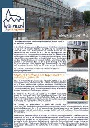 newsletter #3 - Citymanagement Wülfrath