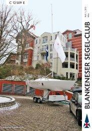 Ausgabe 01/2013 (März/April) - Blankeneser Segel-Club eV