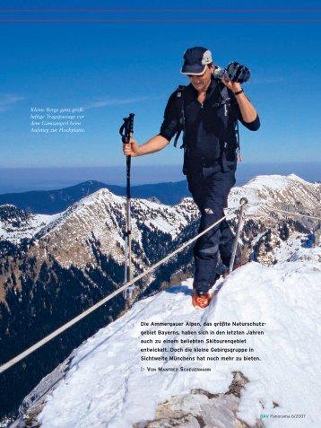 Die Ammergauer Alpen, das größte Naturschutz - Deutscher ...