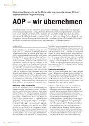 AOP – wir übernehmen - PTA GmbH