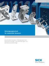 Befestigungstechnik für industrielle Sensoren - ZM Technik