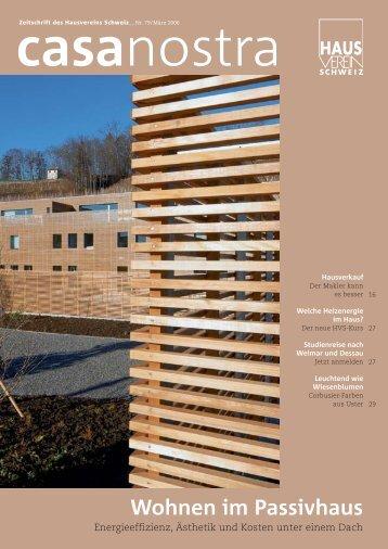 casanostra Nr. 79 herunterladen als pdf - hausverein.ch