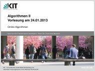 Theorem 50 - Algorithmik I - Karlsruher Institut für Technologie (KIT)