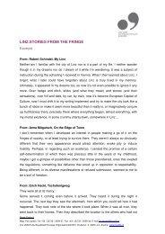 Further information (pdf) - Linz09