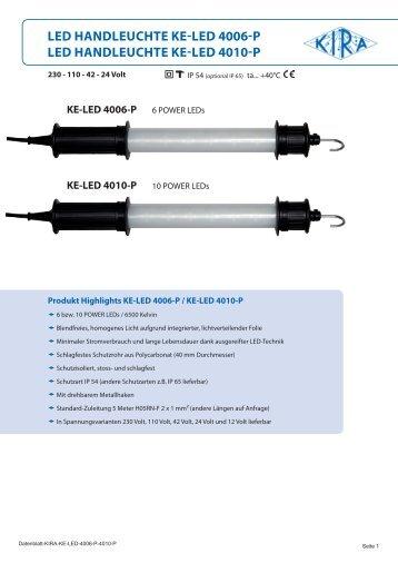 KE-LED 4006-P - KIRA Leuchten GmbH