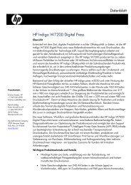 HP Indigo W7200 Digital Press