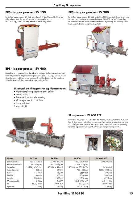Kildesortering og maskiner - coBuilder