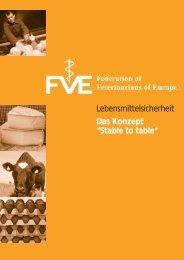 "Lebensmittelsicherheit Das Konzept ""Stable to table"" - Federation of ..."