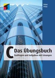 C Das Übungsbuch - Verlagsgruppe Hüthig Jehle Rehm GmbH