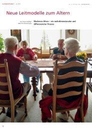 Neue Leitmodelle zum Altern - AvenirSocial