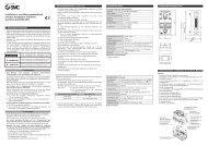 Installations- und Wartungshandbuch Interbus-kompatible SI ... - SMC