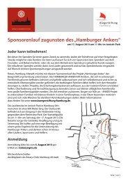 Infos - BürgerStiftung Hamburg