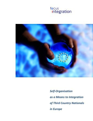 Self-Organisation as a Means to Integration of Third Country - Verein ...