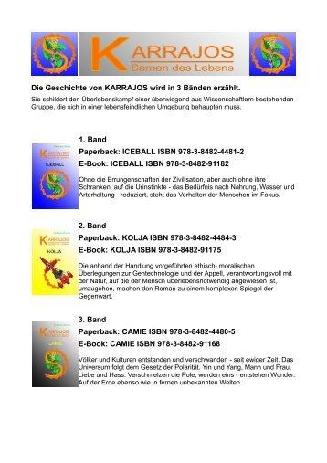 ICEBALL ISBN 978-3-8482-4481-2 E-Book: ICEBALL ISBN 9