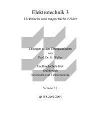 Elektrotechnik 3 - Fachbereich Informatik und Elektrotechnik ...